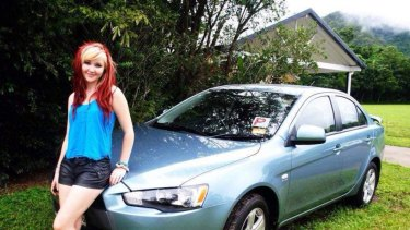 ToyahCordingley's parents have shared a picture when their daughter first got her license and car six years ago.