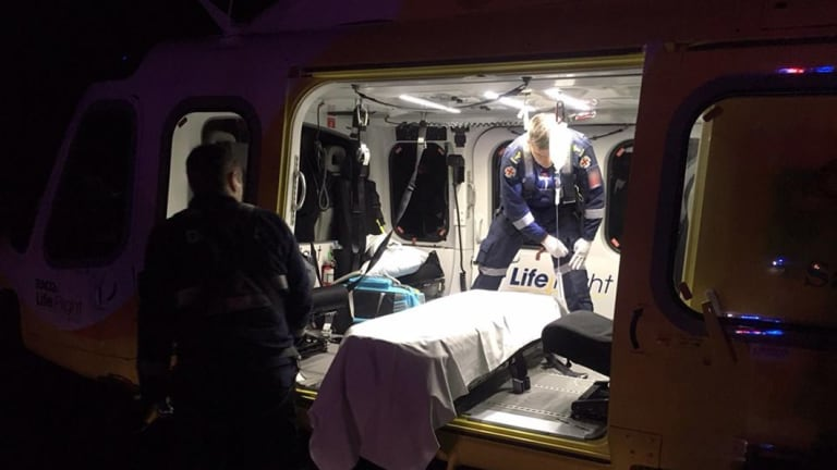 RACQ LifeFlight Rescue treated a man with gunshot wound to the chest in a hunting incident on the Southern Downs in Queensland.