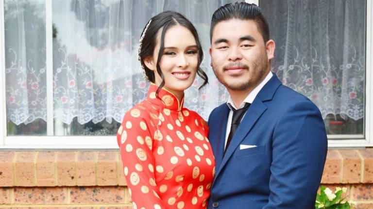 Katherine and Bronko Hoang married just months before the tragic crash.