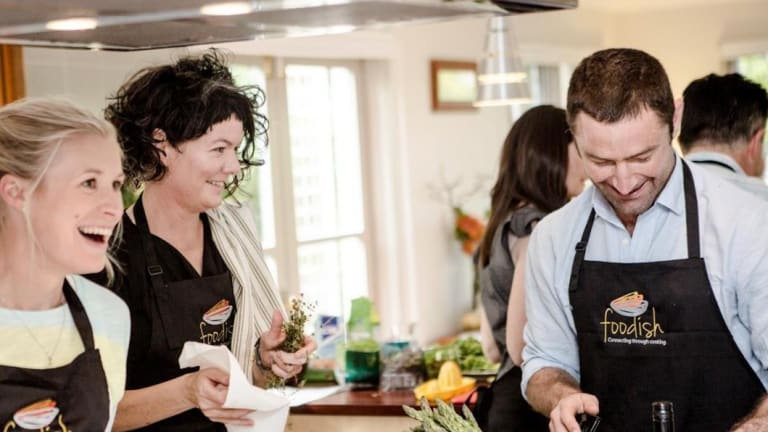 Cooking school Foodish offers corporate classes.