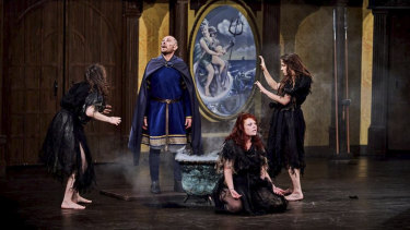 Classic tale: Macbeth is performed at the Pop-up Globe.