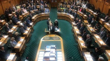 Parliament opens in Wellington on Tuesday.