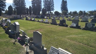 Several name plates on the final resting places of ex-service personnel have been stolen from a Rockingham cemetery.