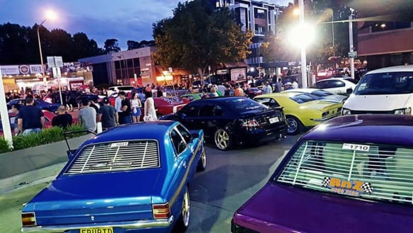 Look out for the cars cruising Canberra for Christmas charity drive