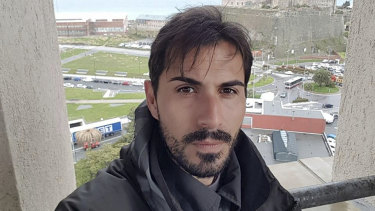Davide Capello, a former professional football player, was on a motorway bridge in Genoa in Italy when it collapsed.