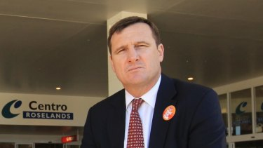 SDA national secretary Gerard Dwyer.
