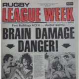 The April 15, 1978 cover of Rugby League Week.