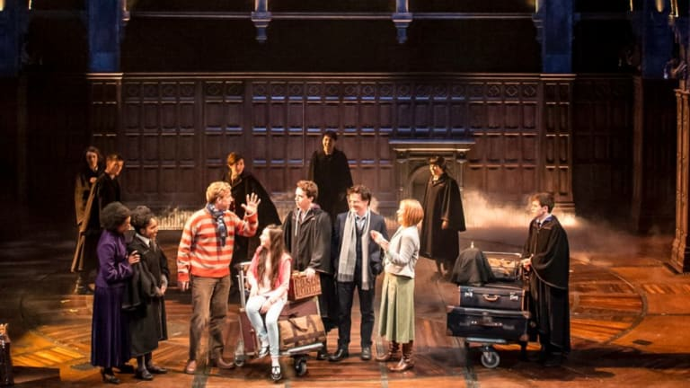 Harry Potter and the Cursed Child production images.