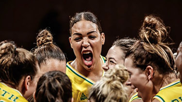 Liz Cambage is being investigated by Basketball Australia for a potential breach of the code of conduct in a pre-Olympic Games scrimmage session.