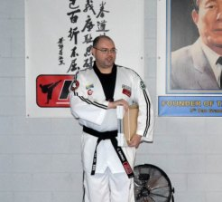Martial arts teacher Christopher Barnes faced court on Wednesday, charged with sexually assaulting a boy.