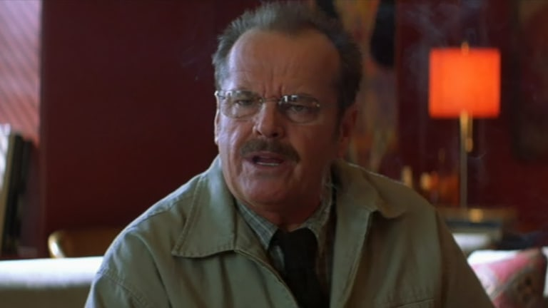 Jack Nicholson stars in The Pledge.