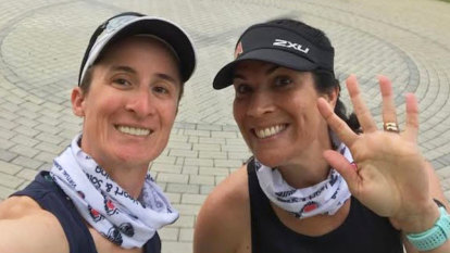 'Face up and sign up': The inspiring police mums running for a cause