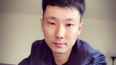 Alex Wang, the peak student union's international student officer.