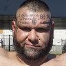 John Ibrahim and the tattooed visitor
