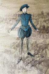 Le costume pour Alto, ayant pour personnage Romeo.