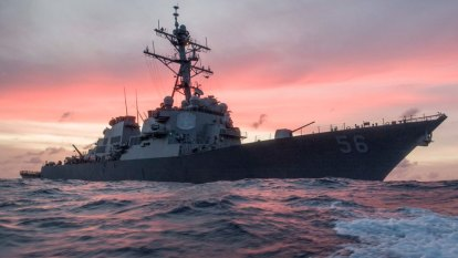China claims to 'expel' US navy ship as tensions mount over sea