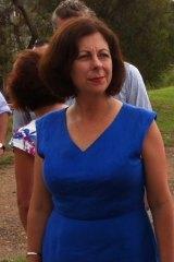 Member for Ipswich Jennifer Howard at Bundamba.
