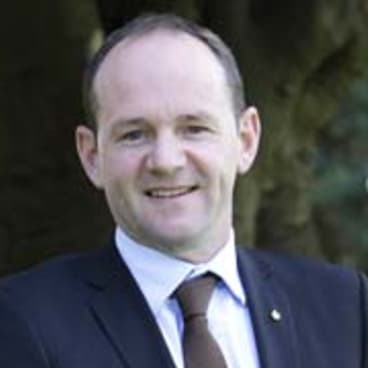 """""""Right balance"""": Niall Blair, Minister for Primary Industries."""