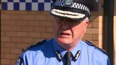 WA Police commissioner Chris Dawson says officers' response was appropriate.