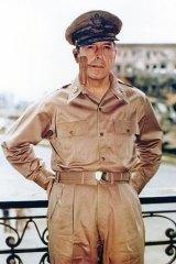US General Douglas MacArthur.