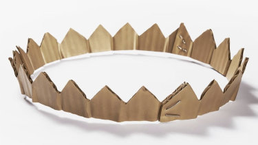 "David Bielander's $15,000 ""Cardboard Crown."""