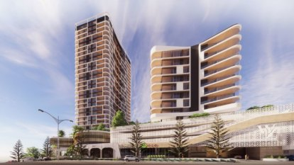 Scarborough tower development makes a comeback in $120 million facelift of ailing block
