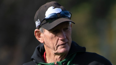 Wayne Bennett is ready to hand the reins over Souths to assistant Jason Demetriou from November of next year.