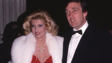 Donald Trump and ex wife Ivana in 1986.