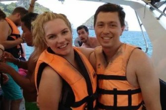Karla Mathews and Richard Elzer were visiting White Island when it erupted.