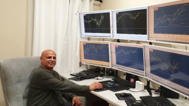 Businessman Peter Christodoulou says the world of CFD trading has become a passion.
