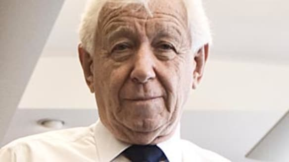 Retiring a 'frightening thing', says Sir Frank Lowy