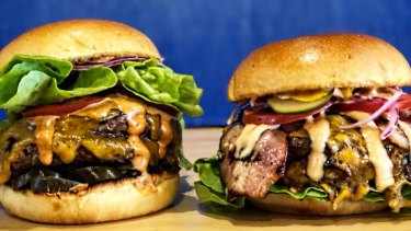 Meet and Bun's Big Daddy burger.