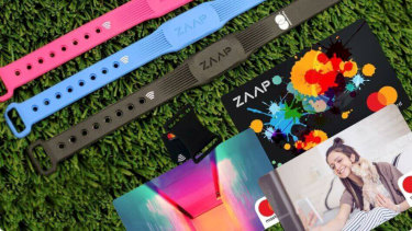 The full bundle includes a personalised Mastercard and a wearable for contactless payments.