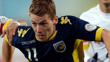 Back in town: Oliver Bozanic has joined Melbourne City.