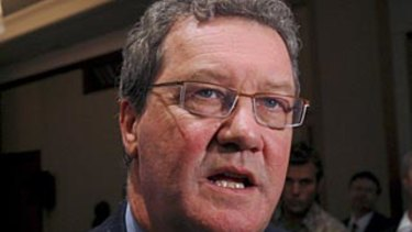 Outgoing Australian ambassador to the UK Alexander Downer