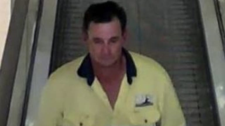 Police are searching for this man after a violent robbery in Chermside shopping centre.