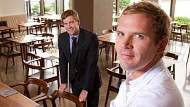 Esquire founding partners Cameron Murchison (left) and Ryan Squires.