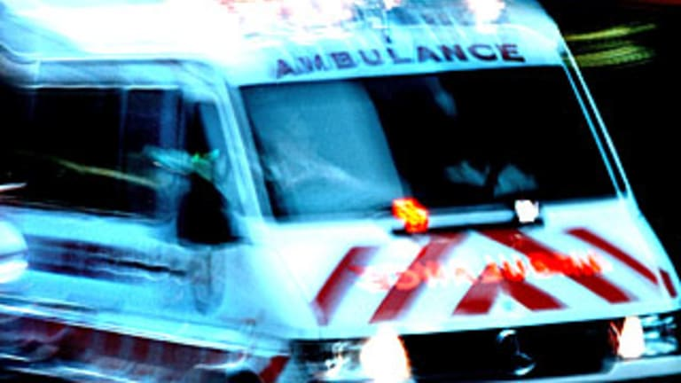 A toddler has been left seriously injured after being hit by a car in a residential street in Melbourne's north-west.