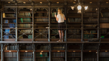 Books can be seen as decorative and illustrative of their owner's identity.