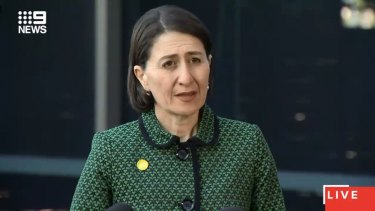 "NSW Premier Gladys Berejiklian said the Ruby Princess inquiry was being conducted in a ""robust"" way."