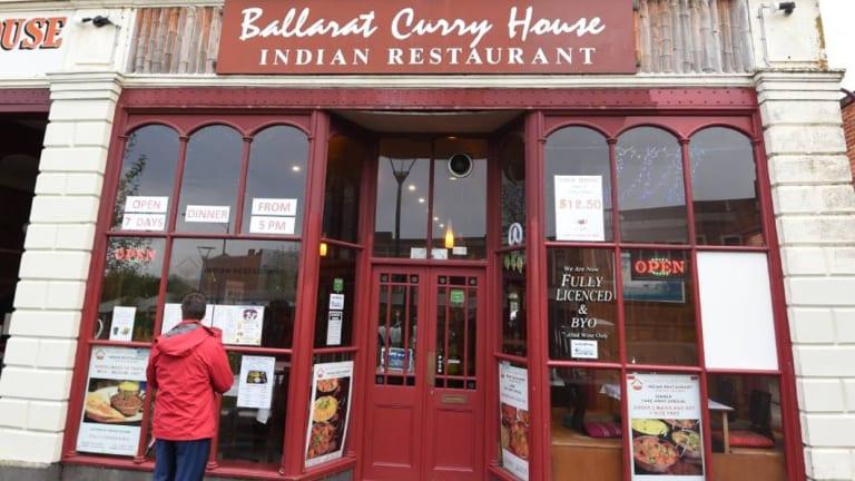 The Ballarat Curry House.