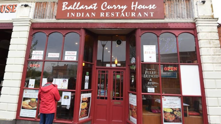 The Ballarat Curry House.