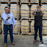 Ferngrove Wine managing director Andrew Blythe, Whipper Snapper Distillery co-founder Alasdair Malloch and LabWest managing director Brad Whissor.