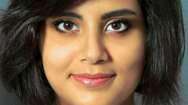 Saudi human rights activists Loujain al-Hathloul.