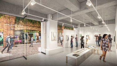 Metro Arts planned new facilities at West End's West Village after the sale of the Edward Street building in December 2019.