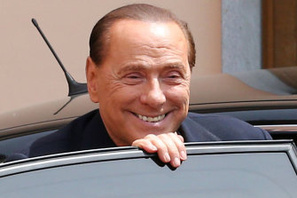 Former Italiam PM Silvio Berlusconi is said to be improving in hospital.