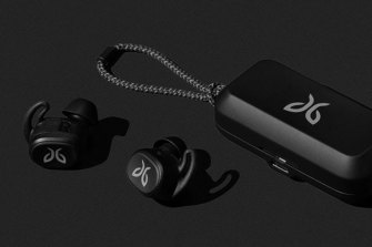 The Jaybird Vista headphones are better than AirBuds.
