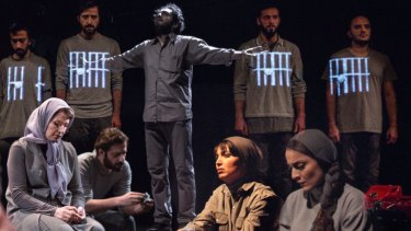 Nazanin Sahamizadeh's play <i>Manus</i>, based on the experiences of those imprisoned on the island, is performed in Tehran. The play will soon be staged in Australia.