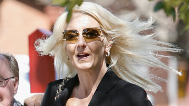 Nicola Gobbo in 2008, while she was working as a secret police informer.