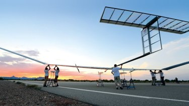 Airbus has announced it will base its Zephyr solar-powered unmanned aircraft at Wyndham airfield.